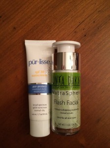Pur~Lisse Pur~Tect and Sonya Dakar Flash Facial